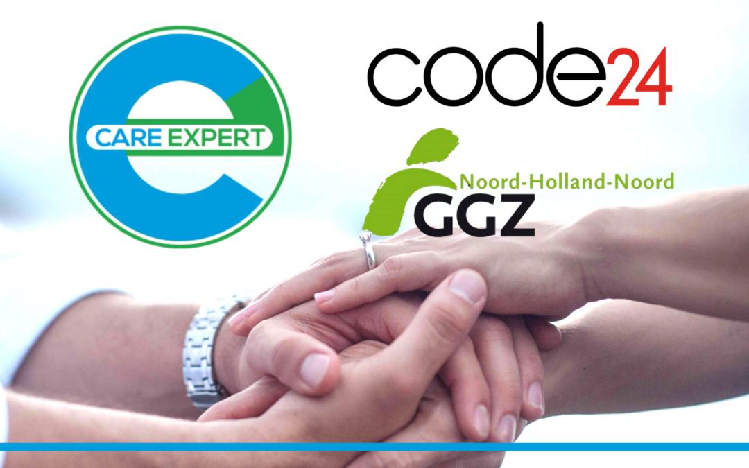Code24, Care Expert en GGZ NHN slaan handen ineen voor Financieel24