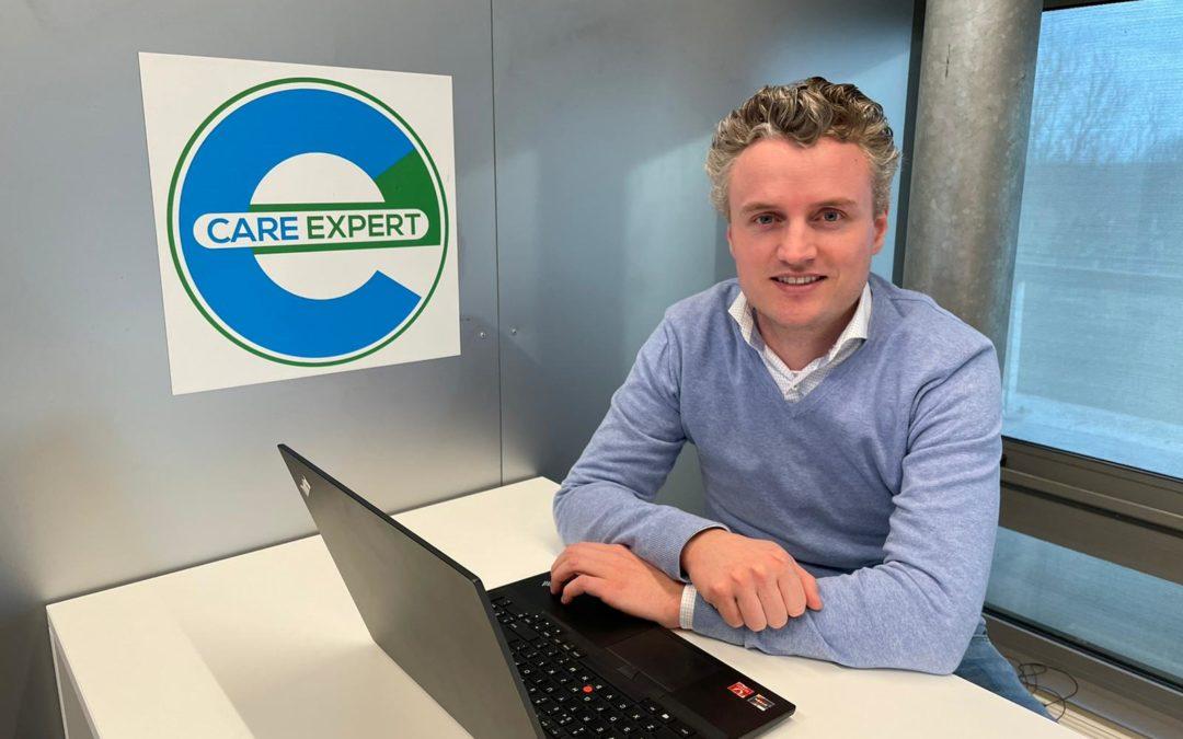 Christiaan Brouwer: 'Klantbehoefte de basis van alle ontwikkelingen binnen Care Expert'
