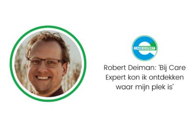 Robert Deiman: 'In gesprek met collega's, klanten en partners wordt prioritering duidelijk'